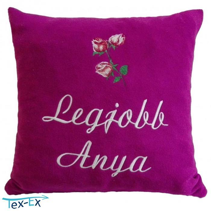 23d53abdbe Legjobb Anya + bimbós rózsa bíbor | Hímzett Textil Expressz
